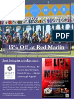 Del Mar Races and Red Marlin