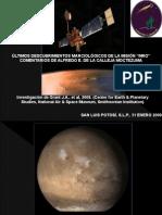 Crater Holden, Marte