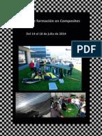 Curso de Formación en Composites Del 14 Al 18 de Julio de 2014