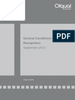 2013 09 02 General Conditions of Recognition September