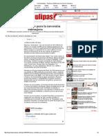 07-14-2014 'Reynosa Confiable Para La Inversión Extranjera'