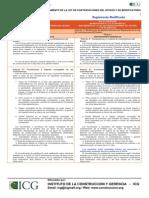 Cuadro Comparativo_Reglamento de Modificaciones Del Reglamento de Adquisiciones y Contrataciones Del Estado