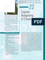 Cc Ch 22 Capital Budgeting and a Closer Look