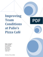 palios pizza final report group 7