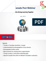G2 Give Green Canada webinar with Canada Post