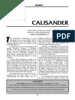 Calisander Adventure - Old Hrolmar
