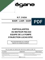 3163A-Particularités Moteur F8Q 622