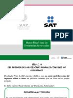 Marco Fiscal Para Donatarias Autorizadas Marzo 2014