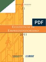 PESQ-EstatisticasDeEmpreendedorismo2011-RelatorioFinal