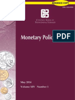 Monatary Policy Report May 2014