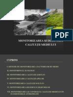 Curs Nr. 1 - Sisteme de Monitorizare