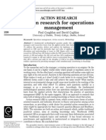 Action Research for Operations Management