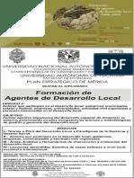 Diplomado en Formación de Agentes de Desarrollo Territorial