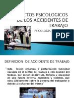Aspectos Psicologicos de Los Accidentes de Trabajo
