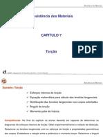 Capitulo 7 - Torção.ppt