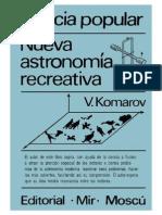 (eBook - PDF)[Fisica][Astronomia] Komarov v - Nueva Astronomía Recreativa (Editorial Mir)