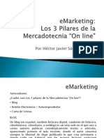 EMarketing Los 3 Pilares de La Mercadotecnia on Line