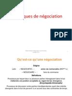 Techniques de Négociation 2014 Ensept