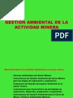02 Normatividad Minera Ambiental EIA Explotación Exploracion