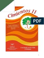 Cimientos de La Fe Cristiana Vol. II