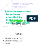 2-Kirchoff's Laws