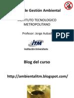 Curso de Gestión Ambiental-3 CONTAMINACIÓN AMB