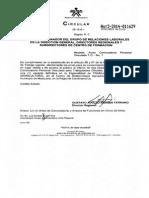 Circular No. 2-2014-011629 para Trabajador de Campo (Agricultura)