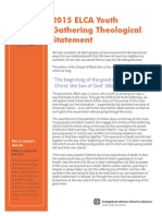 2015 elca youth gathering theological statement