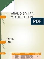 Análisis Proyectos V.I.P. V.I.S.