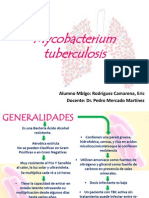 Mycobacterium Tuberculosis Exposicion