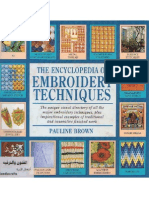 The Encyclopedia of Embroidery Technique by Pauline Brown