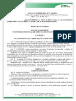 Resolucao Rp Crmmg 334 2011