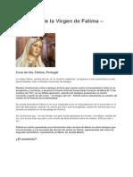 Aparición de La Virgen de Fatima