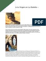 Aparición de La Virgen en La Salette