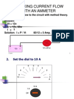 Penggunaan Ammeter
