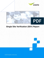 Ssv Report Utsw