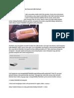 Cara Mengatasi Flashdisk Write Protected 100