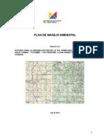 Plan de Manejo Ambiental Tutumbe