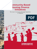 Community-Based Housing Finance Initiatives