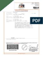 Certificado de Matrimonio de Jose Mario Alvarado