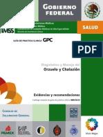 Orzuelo y Chalazión