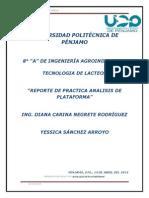 Reporte de Practica Analisis de Plataforma