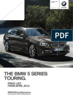 Bmw 5s Touring f11 Lci Pt April14