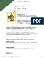 Oraculo Belline Nº 32 - Maldad _ La Magia Del Tarot