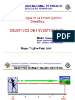 10. Objetivos de Investigacion 2014 [Modo de Compatibilidad]