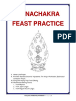 Gana Chakra Feast Practice