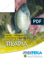 Manual Reproduccion y Cultivo Tilapia