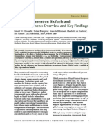 Rapid Assessment Biofuels
