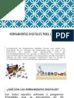 Herramientas Digitales Para La Educación