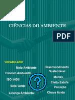 Ciências Do Ambiente 1